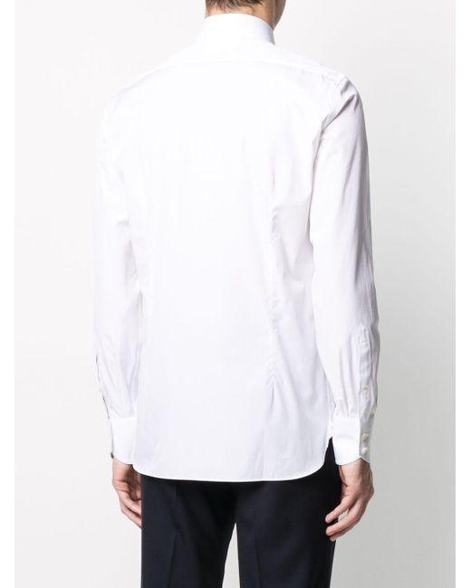 メンズ Tom Ford スリムフィット シャツ White