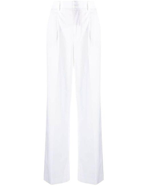 Прямые Брюки PT01, цвет: White