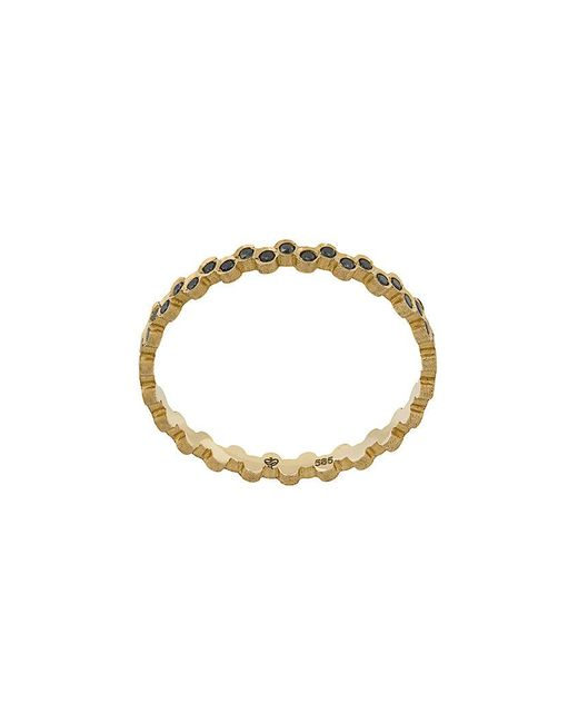 Savoir Joaillerie - Metallic 14kt Yellow Gold And Diamonds She Thing Ring - Lyst