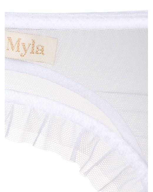 Myla シアーサスペンダー White
