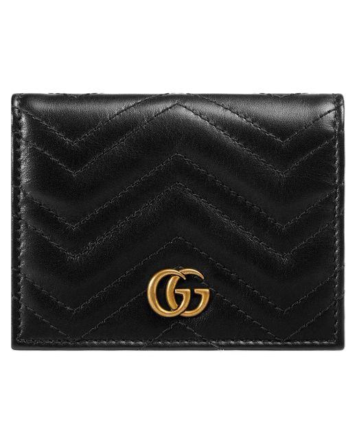 Кошелек GG Marmont На Цепочке Gucci, цвет: Black