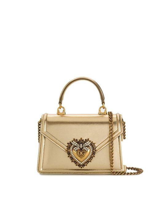 Dolce & Gabbana Devotion ハンドバッグ Metallic