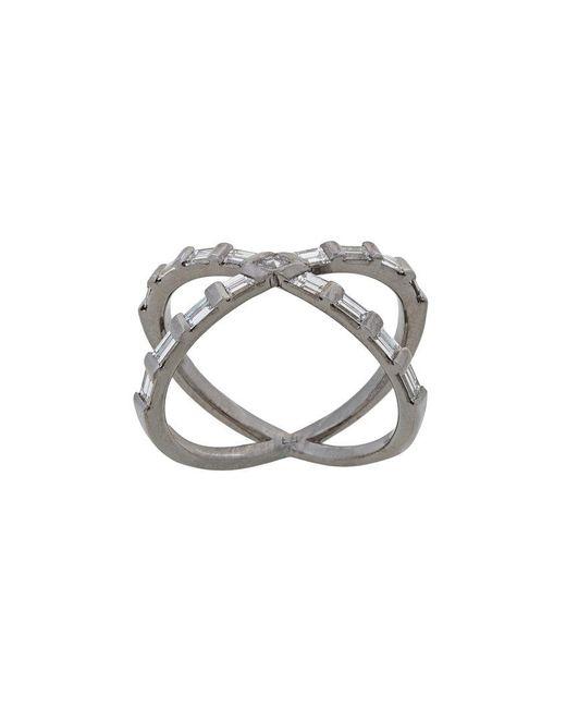 Eva Fehren - Metallic Tetra Shorty Ring - Lyst