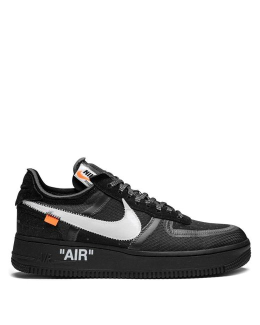 Nike Air Force 1 Low The 10 スニーカー Black