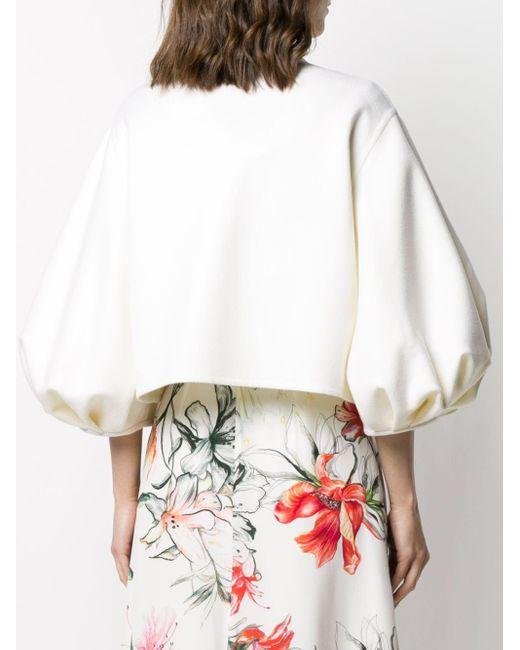 Valentino クロップドジャケット White