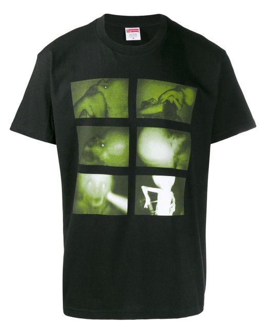 メンズ Supreme Chris Cunningham Rubber Jhonny Tシャツ Black