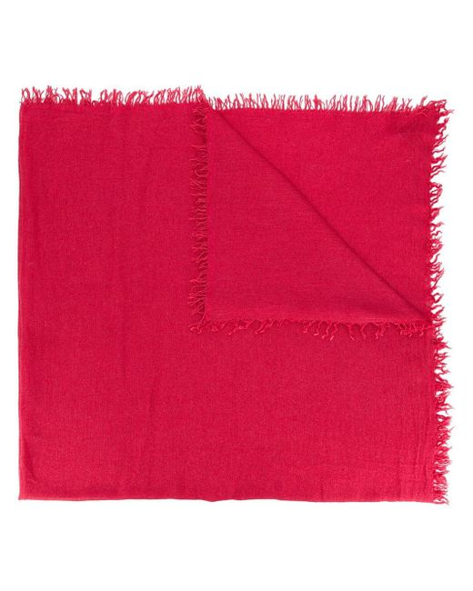 Faliero Sarti カットアウト スカーフ Red