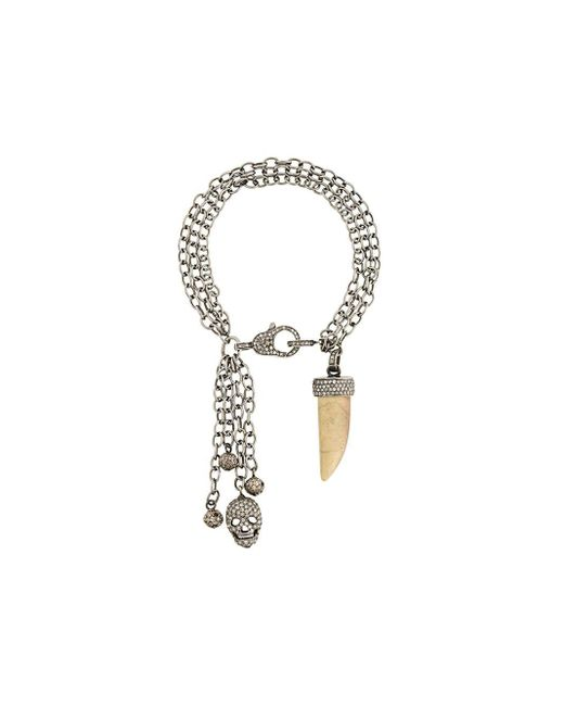 Loree Rodkin ダイヤモンド装飾 チャームブレスレット Multicolor