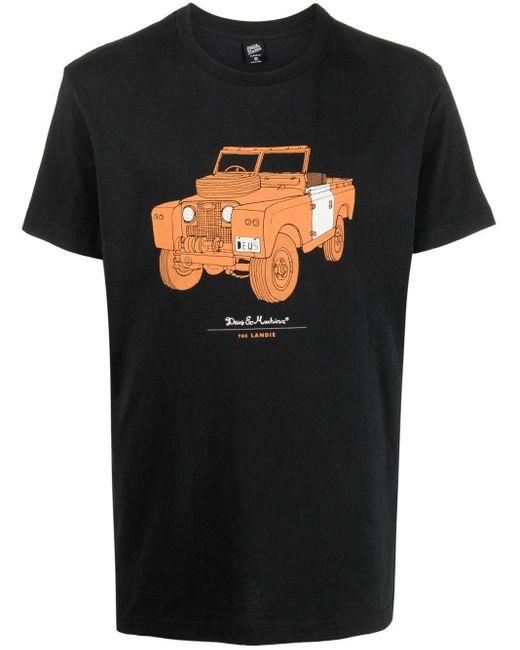 T-shirt con stampa di Deus Ex Machina in Black da Uomo
