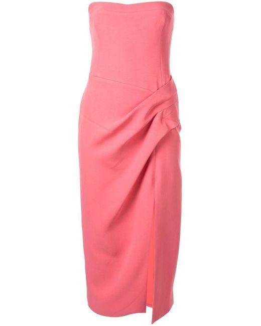 Manning Cartell Hit Predictor ストラップレスドレス Pink