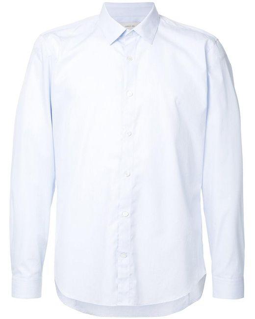 Cerruti 1881 - Blue Long Sleeve Subtle Stripe Shirt for Men - Lyst