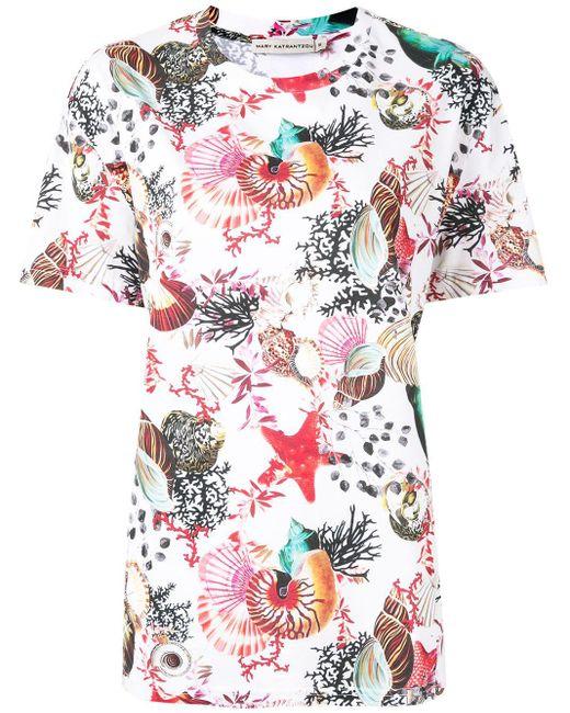 Mary Katrantzou プリント Tシャツ Multicolor