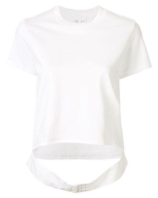 Helmut Lang Femme Belt Tシャツ White