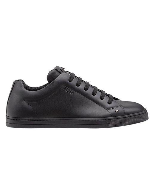 98a280c52777 Fendi - Black Bag Bugs Sneakers for Men - Lyst ...