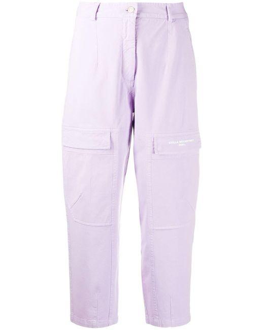 Stella McCartney 2001. ストレートジーンズ Purple