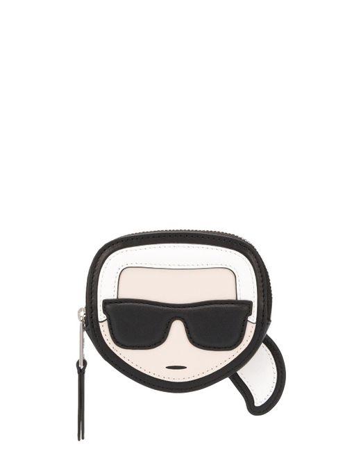 Karl Lagerfeld K/ikonik コインケース Black