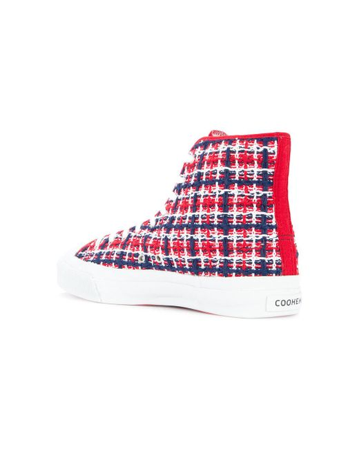 check out 2ccc7 584fd coohem-Red-moonstar-Spring-Tweed-Sneakers.jpeg