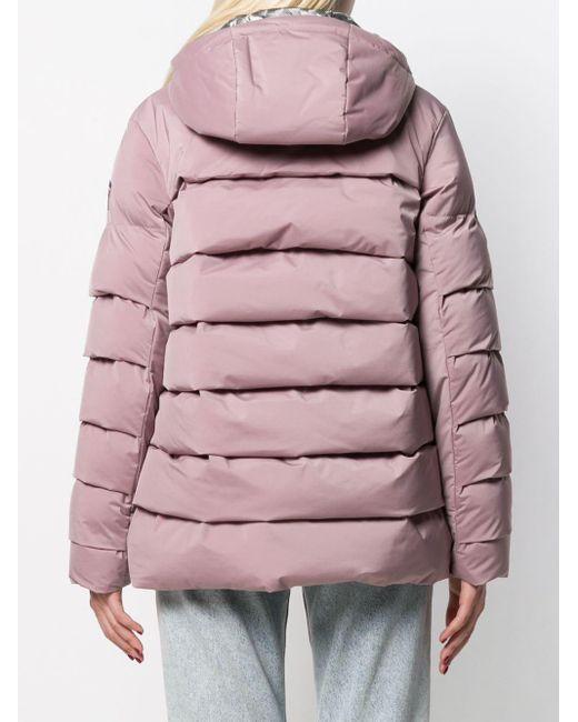 Rossignol フーデッド パデッドジャケット Pink