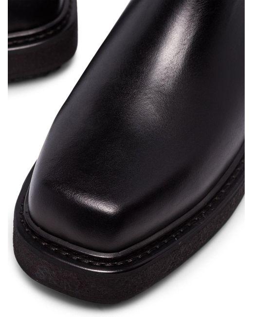 Eytys Black Chealsea-Boots mit Stretcheinsätzen