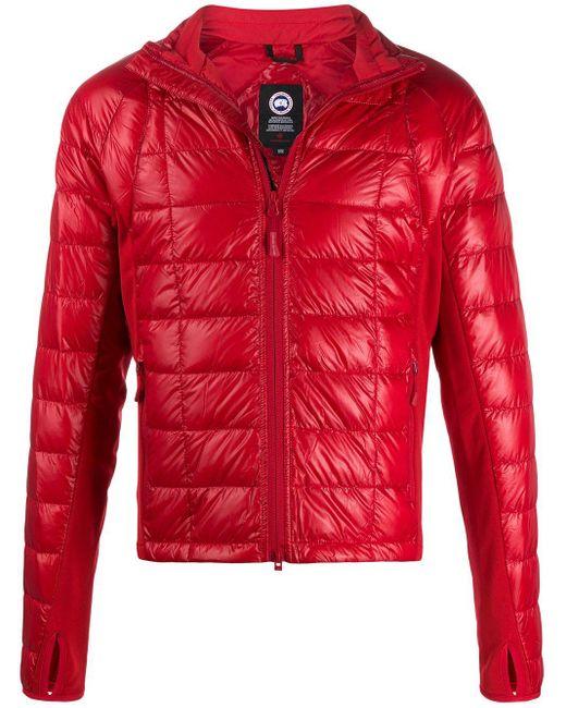 メンズ Canada Goose パデッドジャケット Red
