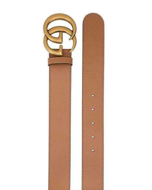 Ремень GG Marmont Gucci, цвет: Brown