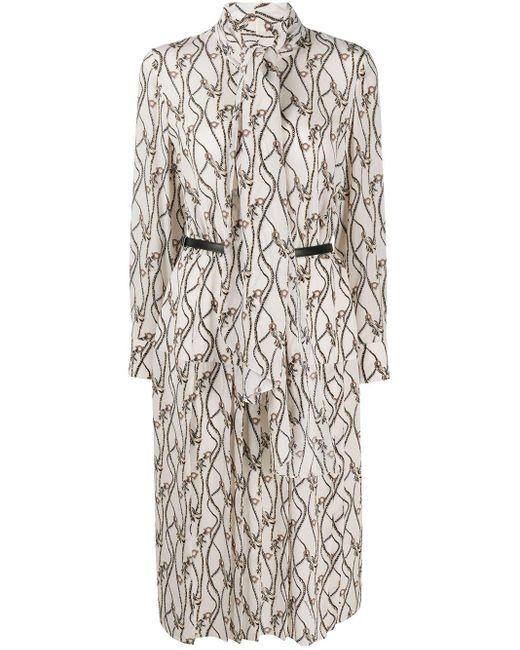 Ferragamo ガンチーニプリント ドレス Multicolor