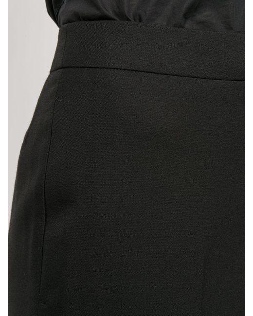 Укороченные Брюки Alexander McQueen, цвет: Black