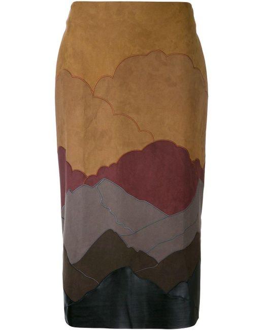 Stella McCartney Nina スカート Multicolor