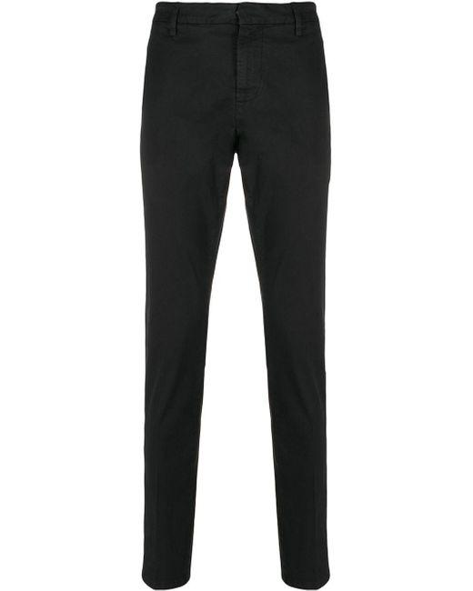 メンズ Dondup スリム テーラードパンツ Black