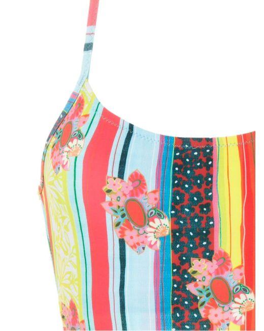 Слитный Купальник С Принтом Amir Slama, цвет: Multicolor