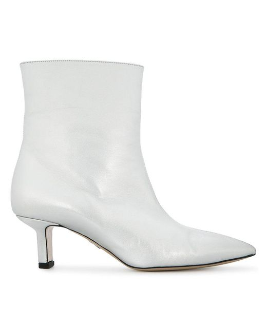 Paul Andrew - Metallic Ankle Boots - Lyst
