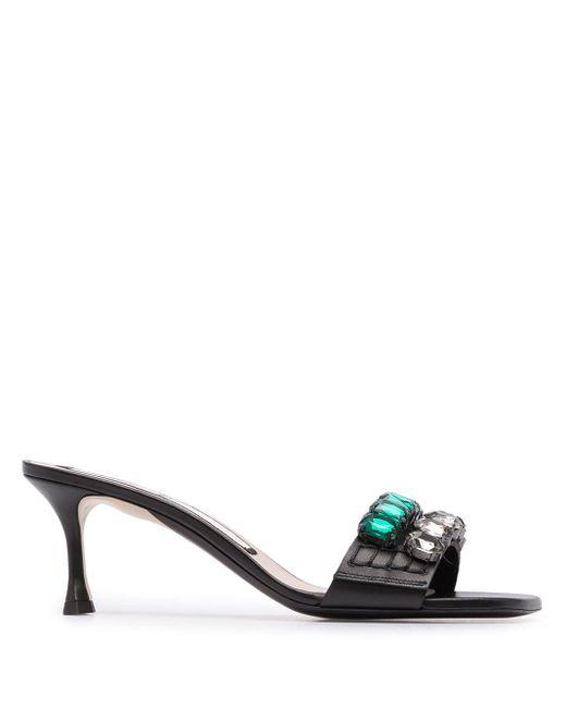 N°21 Multicolor Crystal-embellished Sandals