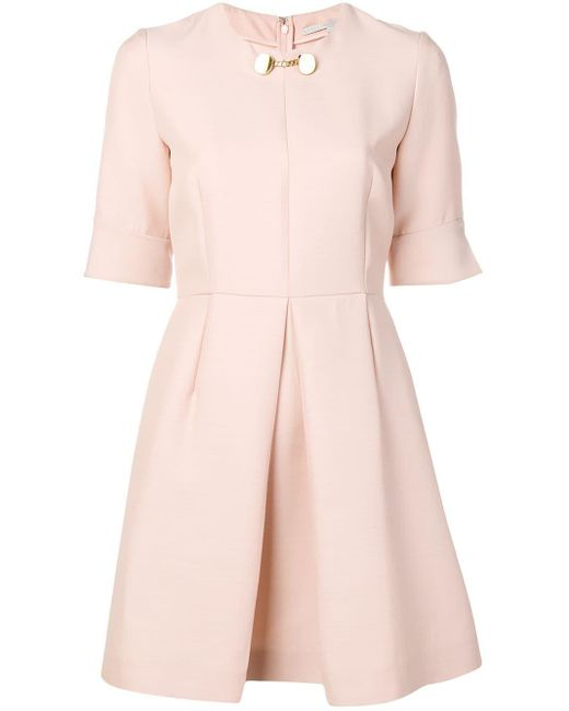 Stella McCartney プリーツドレス Pink