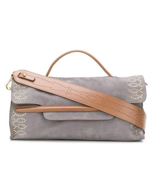 Zanellato Nina Shoulder Bag Gray