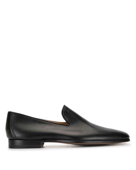 メンズ Magnanni Shoes レザーローファー Black