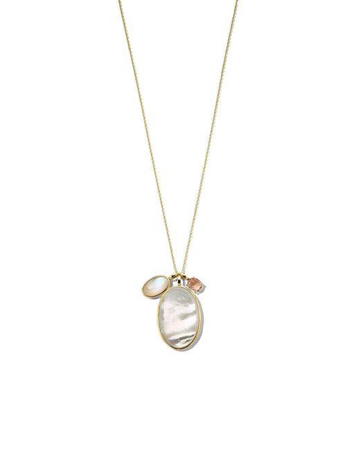 Ippolita Rock Candy® Luce ネックレス 18kイエローゴールド White