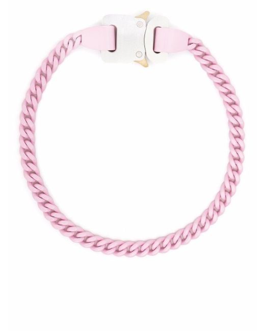 1017 ALYX 9SM カーブチェーン ネックレス Pink