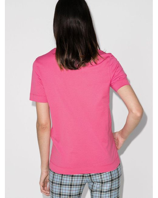 Emilio Pucci ロゴ Tシャツ Pink