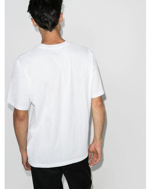 メンズ Craig Green カモフラージュ Tシャツ White