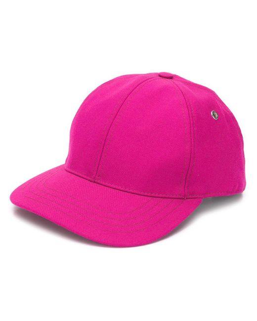 メンズ AMI ピンク ロゴ キャップ Pink