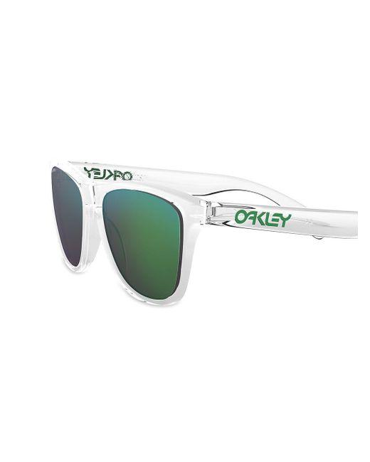 Oakley Women's White Frogskins Sunglasses