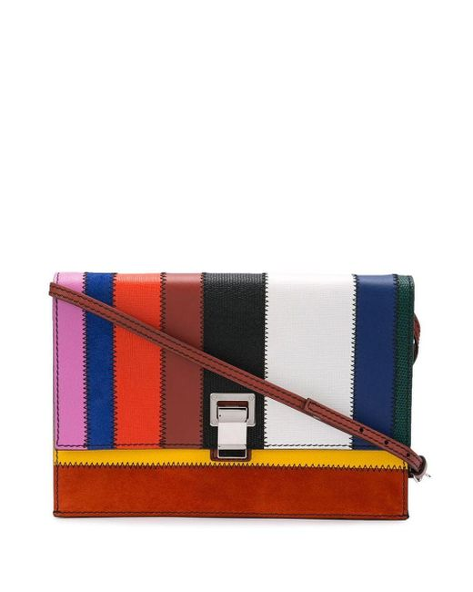 Proenza Schouler Patchwork Small Lunch Bag Multicolor