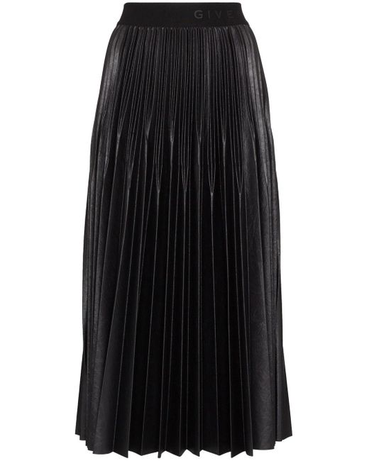 Givenchy ロゴ スカート Black