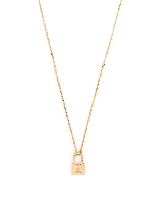 P SERIES NECKLACE GOLD GOLD NO C Ambush en coloris Metallic