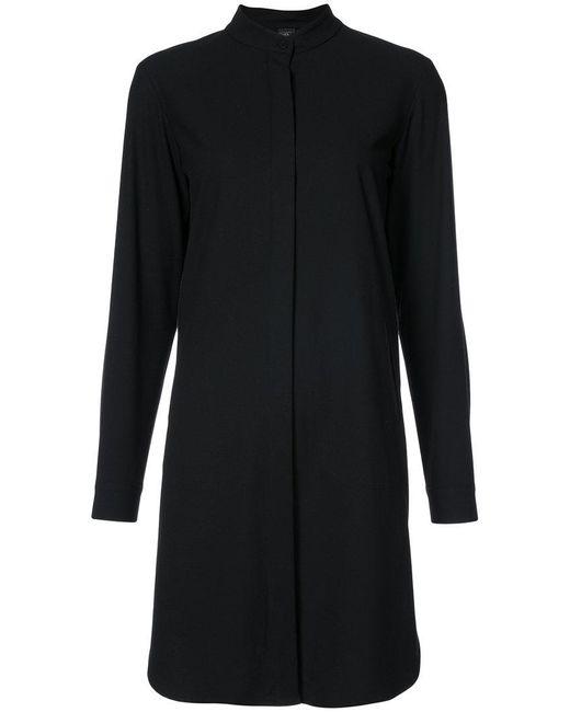 Zero + Maria Cornejo - Black Classic Shirt Dress - Lyst