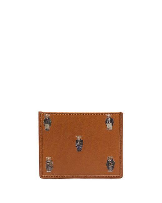 メンズ Polo Ralph Lauren カードケース Brown