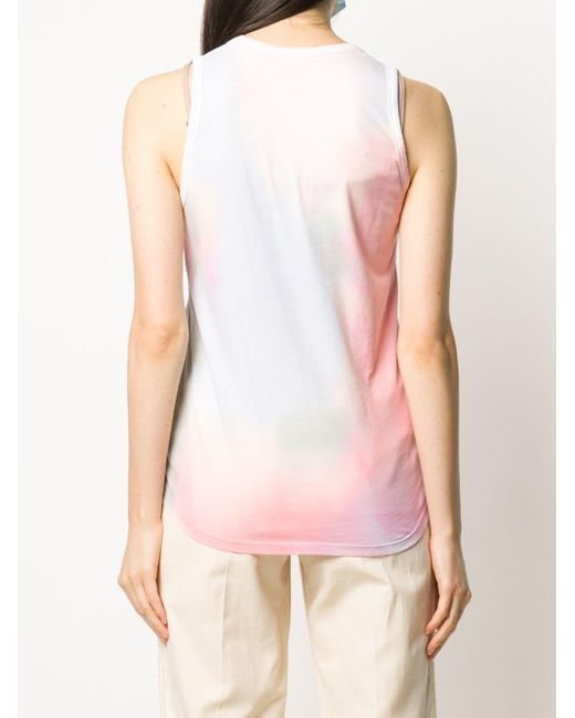 Zadig & Voltaire プリント タンクトップ Pink