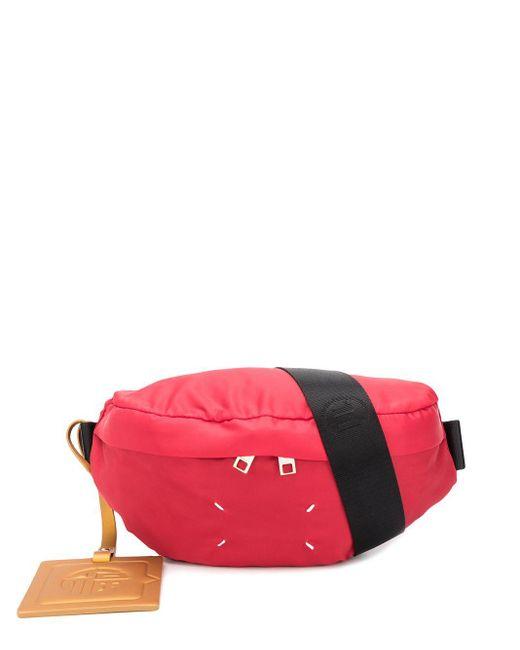 メンズ Maison Margiela ベルトバッグ Red