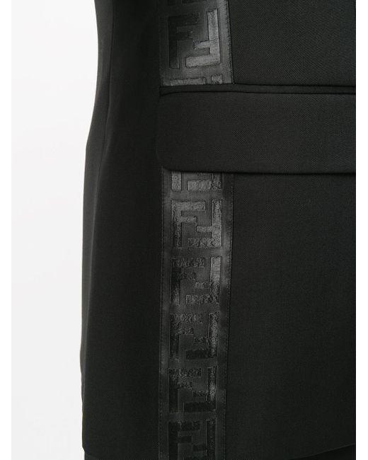 メンズ Fendi シングルジャケット Black
