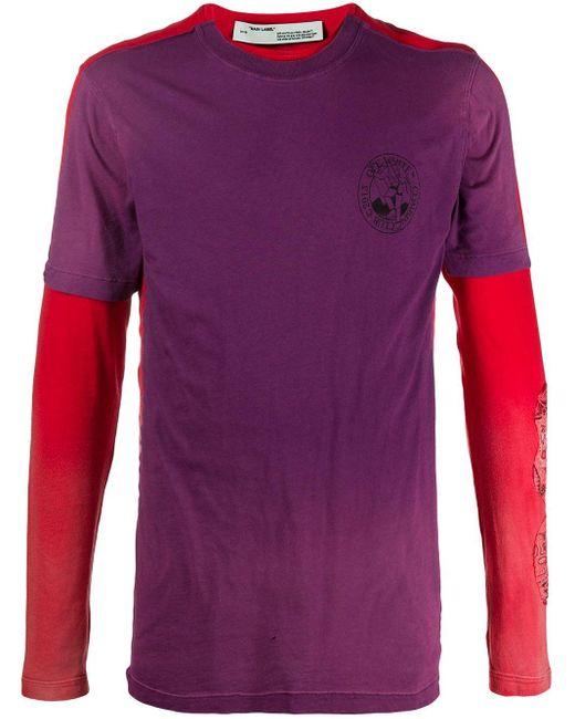 メンズ Off-White c/o Virgil Abloh Arrow Tシャツ Multicolor